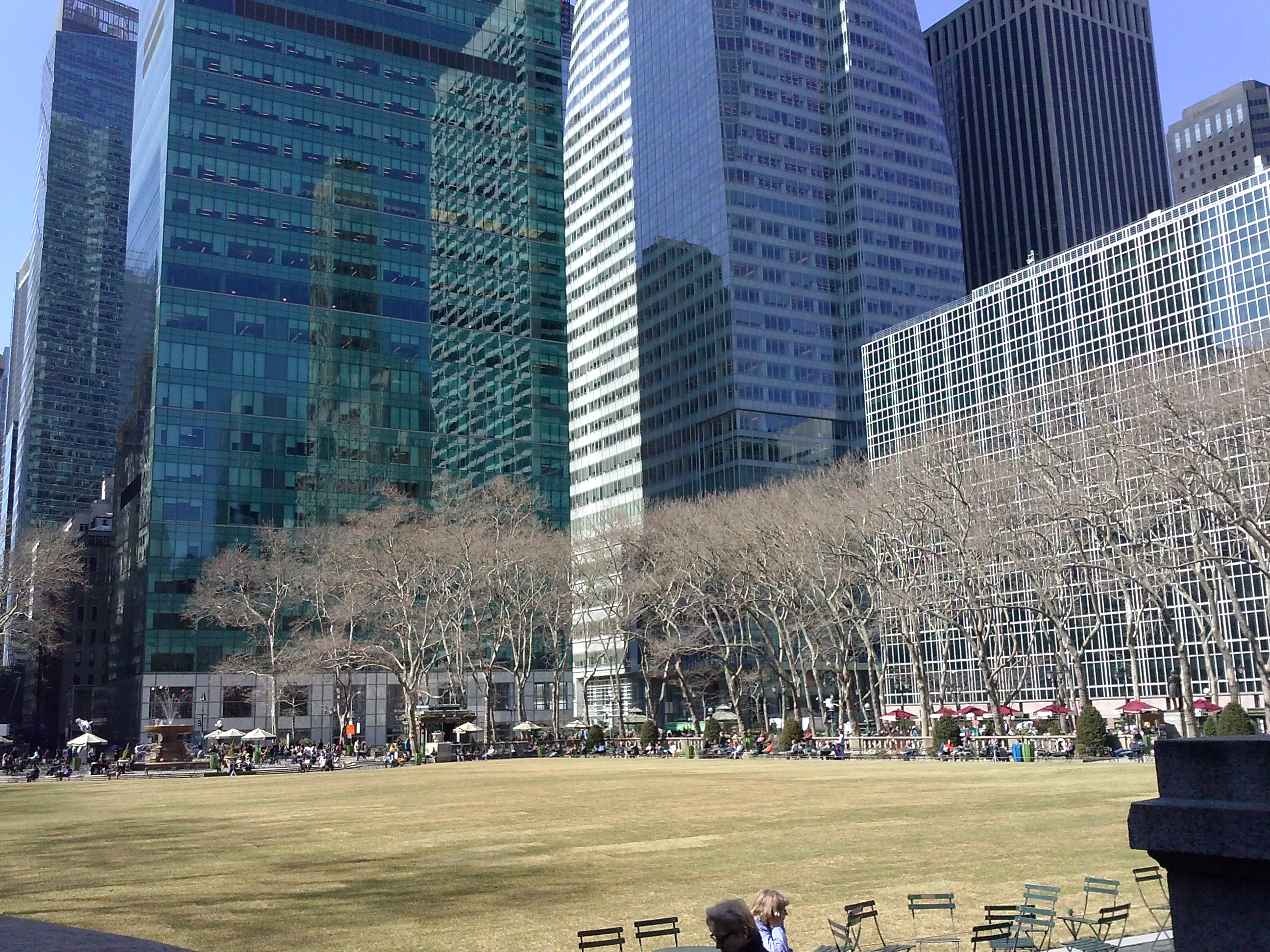 Bryant Park, New York City, 42. Street