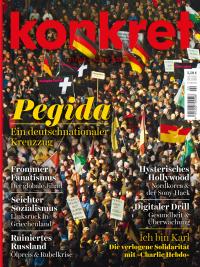 Das Konkret-Heft im Februar 2015